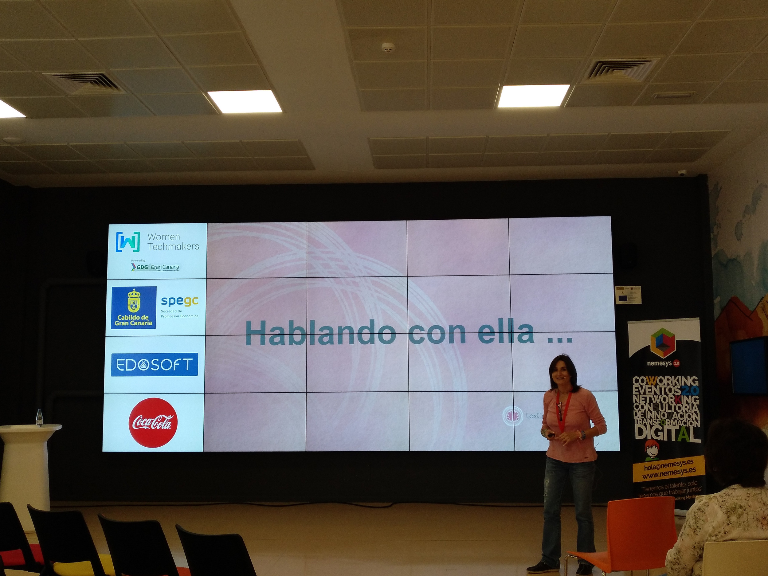 Women Techmakers Gran Canaria 2018 - Mercedes Sanagustín Gabaldón