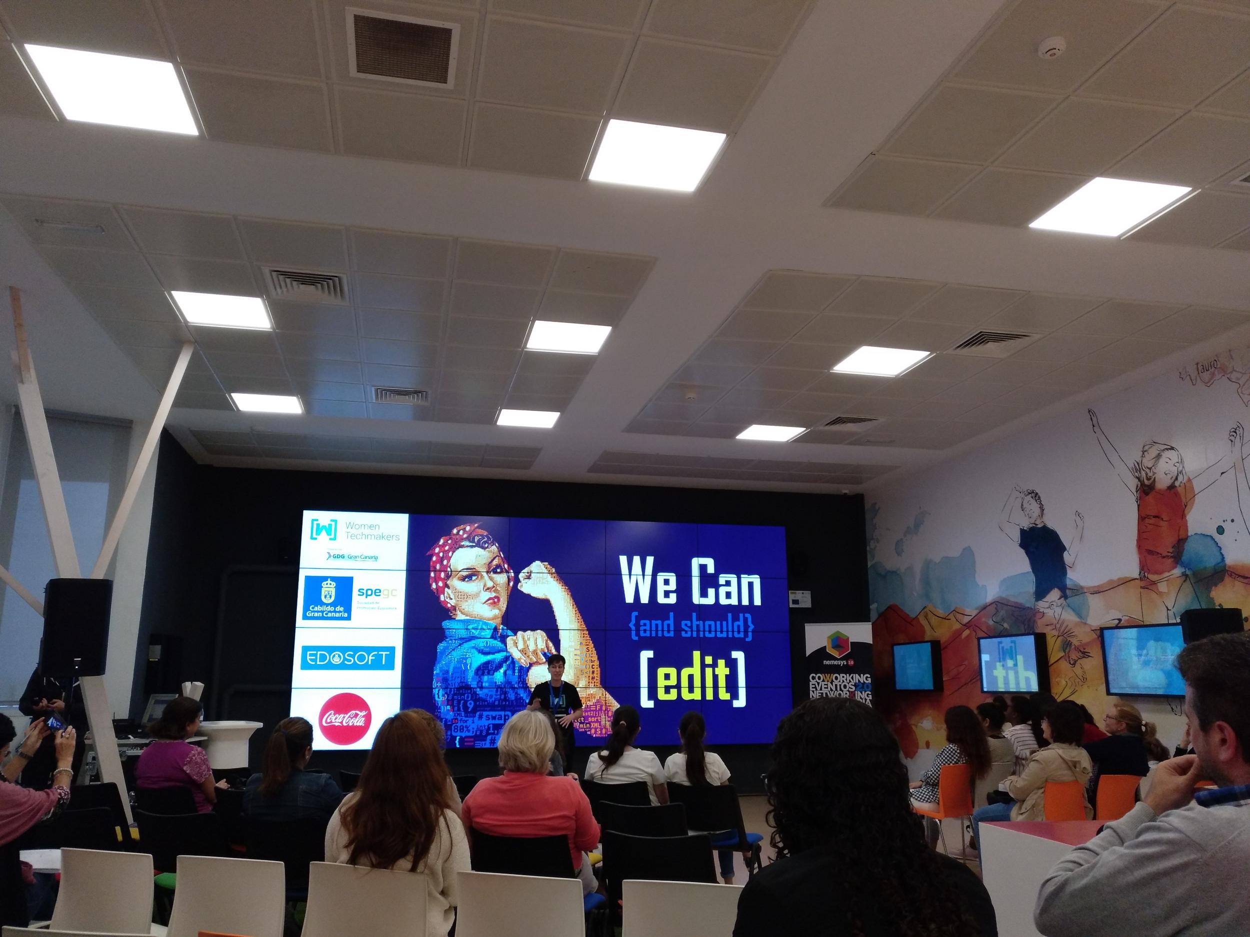 Women Techmakers Gran Canaria 2018 - Patricia Horrillo